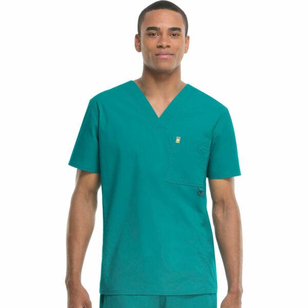 Muška majica s V-izrezom - 16600A-TLCH