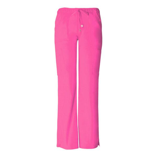 Vrećaste hlače niskog struka na vezanje - 20130-PNKH