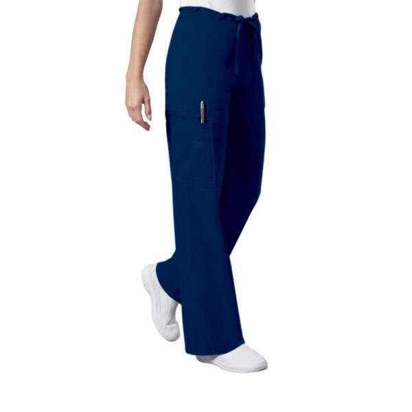 Unisex Cargo hlače s vezicom - 4043-OLVW
