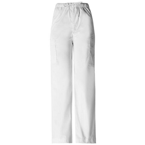Muške vrećaste hlače na vezanje - 4243-WHTW