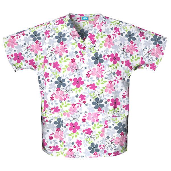 Majica s V-izrezom - 4700-SVAL