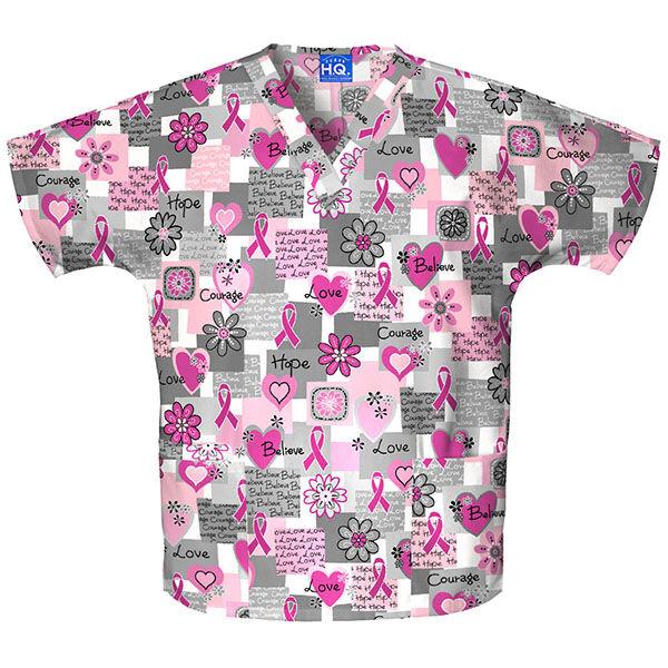 Majica s V-izrezom - 4700-WRDS
