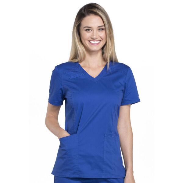 Majica s V-izrezom - 4710-GABW