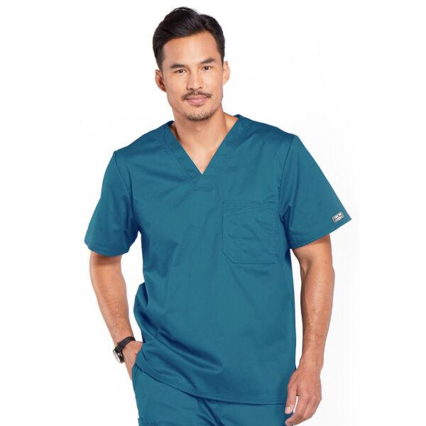 Muška majica s V-izrezom - 4743-OLVW
