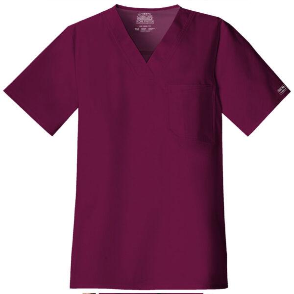 Muška majica s V-izrezom - 4743-WINW