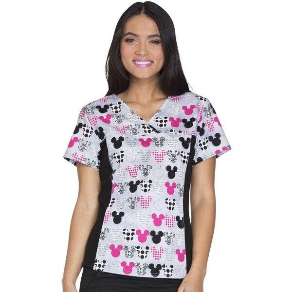 Majica s V-izrezom - 6875C-MKMK