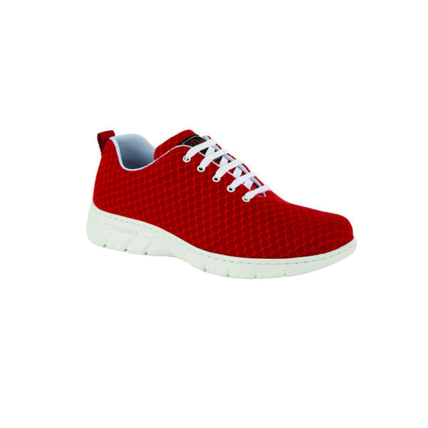 CALPE MARINO fűzős cipő, piros