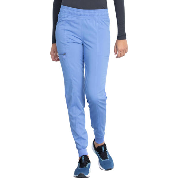 Mid Rise Jogger Pant in Ciel Blue