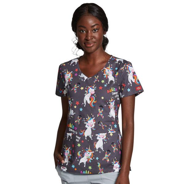 Majica s V-izrezom - DK700-ABET