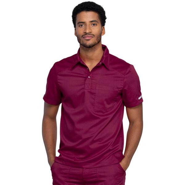Muška Polo majica,  crno vino - WW615-WIN
