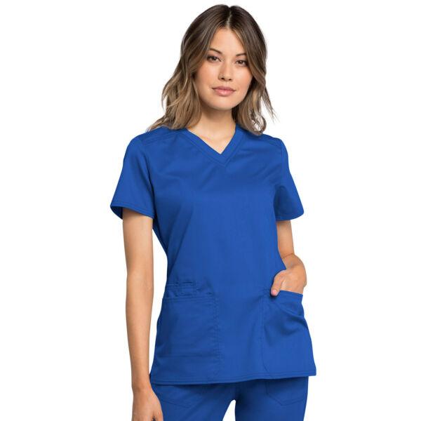 Majica s V-izrezom - WW770AB-ROY