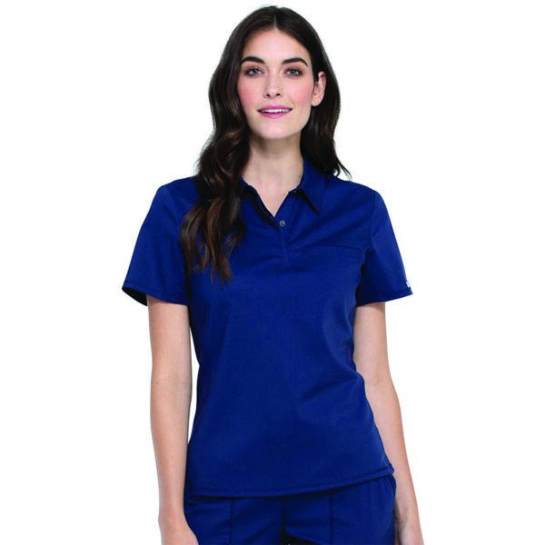 Polo majica na kopčanje, plava - WW698-NAV